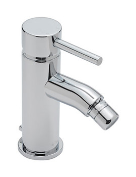 Milan Mono Bidet Mixer Tap With Pop Up Waste - 63080