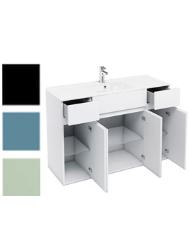 Related Britton Combination Of D450 Units With 1200mm Ceramic Basin