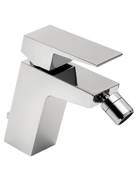 Wilde Mono Bidet Mixer Tap With Click Clack Waste - 47080