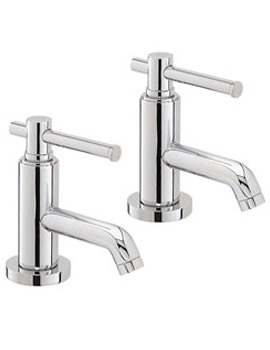 Heritage Fairport Bath Pillar Taps - TSC01 - TSFC00