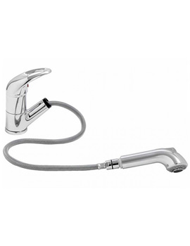 Contemporary Draco Pull Out Kitchen Mixer Tap - AT1080