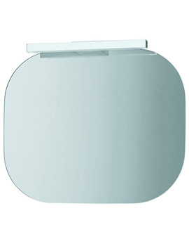 Mimo Mirror With Light 550 x 450mm - White