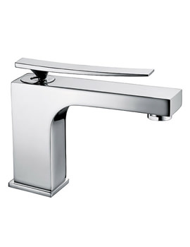 Dance Mono Basin Mixer Tap With Pop Up Waste - 25870