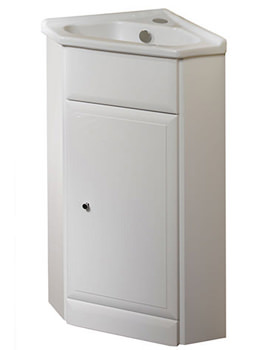 Roper Rhodes Valencia Corner Freestanding Unit Including Basin