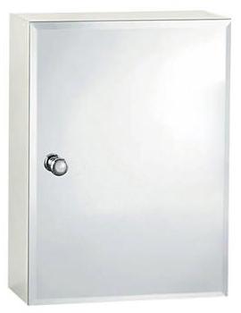 Triton Metlex Buckingham Single Bevelled Mirror Door Cabinet - ABU510B