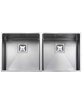 Atlantic Kube 2.0 Bowl Stainless Steel Undermount Kitchen Sink