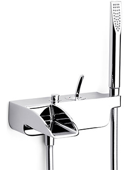 Evol Wall Mounted Bath Shower Mixer Tap With Kit - 5A0149C00