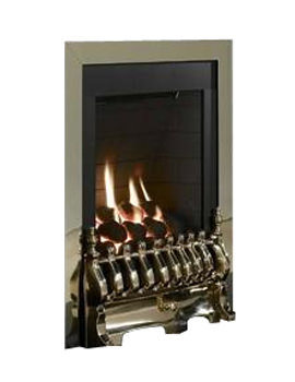 Flavel Windsor Manual Control Traditional Gas Fire Brass - FSRC1PMN