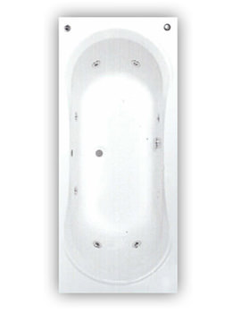 Carara Luxury Bath 1800 x 800 Double 8 Jet