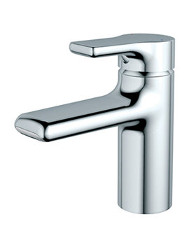 Attitude Waterfall Outlet Basin Mixer Tap With Pop-Up-Waste