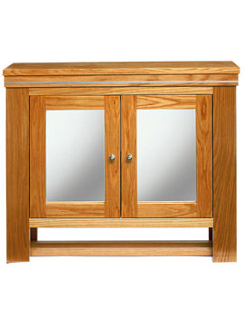 Cuda Natural Oak Wall Cabinet 700 x 660mm - XWC0012020