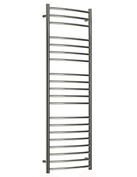 Reina Eos Curved Designer Radiator 600 x 430mm Polished - RNS-ES6043