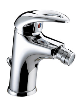 Java Mono Bidet Mixer Tap With Pop-Up Waste - J BID C