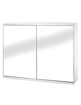 Simplicity Self Assembly 2 Door Mirror Cabinet - WC257022