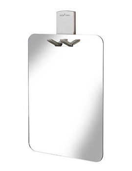 Croydex Homeware Shower Mirror With Razor Holder - AJ401841