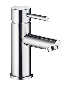 Ivo Single Lever Basin Mixer Tap With Clicker Waste - IVBAS
