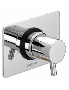 Related Bristan Prism Shower Diverter Tap (Two Outlets) - PM 3WDIV C