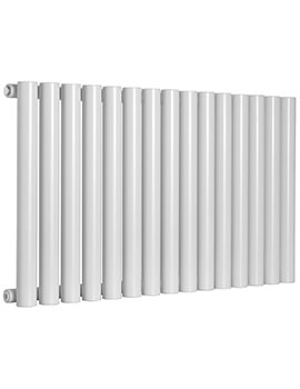 Reina Sena White Finish Designer Radiator 1185 X 550mm - RND-SN18W