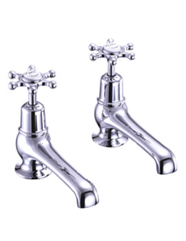 Birkenhead Chrome Plated Bath Pillar Taps - BI3