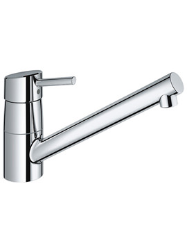 Concetto Kitchen Sink Mixer Tap Chrome