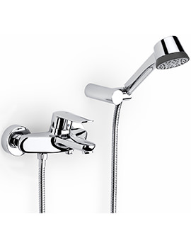 Logica-N Wall Mounted Bath Shower Mixer Tap With Kit - 5A0127C00