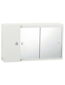 Triton Metlex Buckingham Mirror Door Cabinet