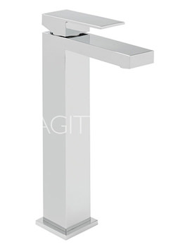 Related Sagittarius Blade Extended Monobloc Basin Mixer Tap With Sprung Waste