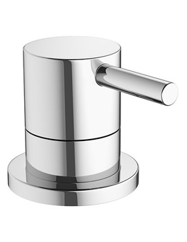 Mike Pro Deck Mounted Chrome Bath 3 Way Diverter