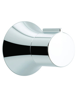 Altitude Wall Mounted Concealed 2 Or 3 Way Diverter Valve Chrome