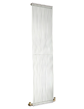 Related DQ Heating MKC16 White 226 x 1810mm Vertical Radiator 8 To 25 Sections
