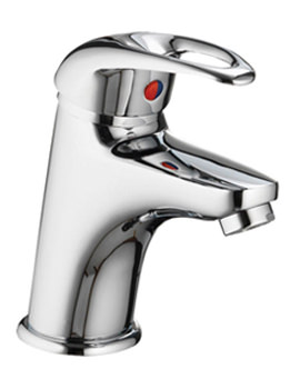 Dv8 Basin Mixer Tap With Clicker Waste - DVBAS