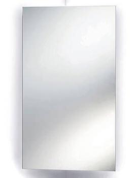 Rosa Corner Mirrored Cabinet 380 x 650 x 280mm - LQ301