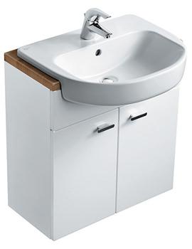 Ideal Standard Concept Semi Countertop Basin Unit - E6493WG