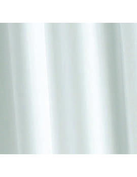 Croydex White Textile Bath Curtain - AF159022