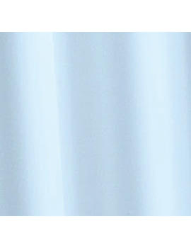 Croydex Light Blue Textile Shower Curtain - AF159084