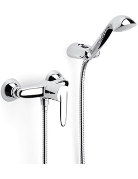 Vectra Wall Mounted Shower Mixer With Kit - 5A2061C00