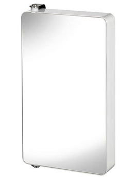 Croydex Arun Large Pivoting Mirror Cabinet 600mm - WC880105