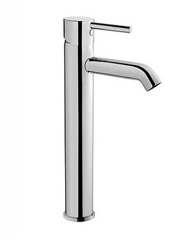 VitrA Minimax S Tall Basin Mixer Tap Chrome - Image