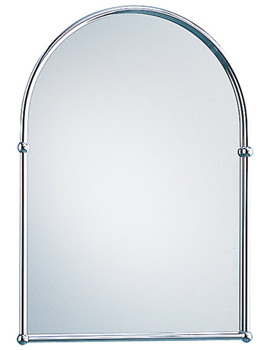 Arched 488 x 673mm Mirror Chrome - AHC09