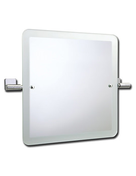 Related Roper Rhodes Glide Swivel Square Mirror with Frosted Edge - 9504.02