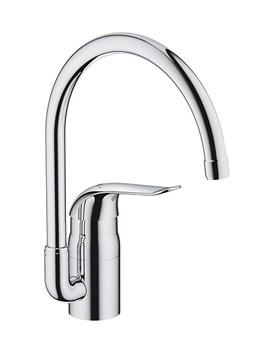 Euroeco Special Chrome Monobloc Sink Mixer Tap - 32786000