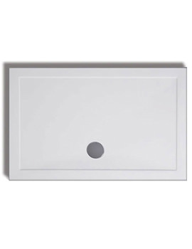 Lakes Low Profile ABS 1700 x 800mm Rectangular Tray With Waste