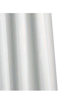 Croydex Plain Textile Shower Curtain With Hygiene N Clean - AF286822H