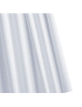 Croydex Special Textile Shower Curtain Upto 1800mm White