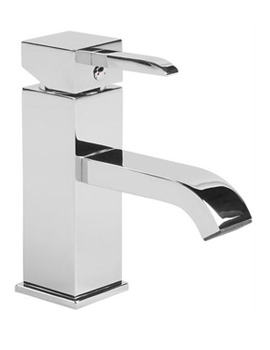 Kick Single Lever Basin Mixer Tap With Click Waste - TKC11