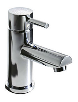Storm Basin Mixer Tap With Click Waste