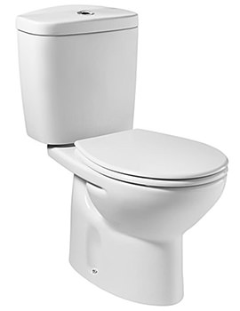 Laura Close Coupled WC Pan White 665mm - 342396000