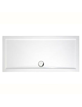 Britton Zamori 1700 x 800mm Rectangular Shower Tray White - Z1185