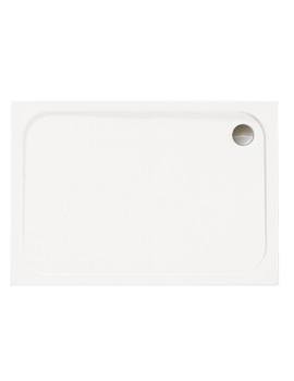 Mstone 1680 x 760mm Rectangular Shower Tray With Waste - D1776RT