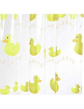 Croydex Bobbing Along Phthalate Free PVC Vinyl Shower Curtain